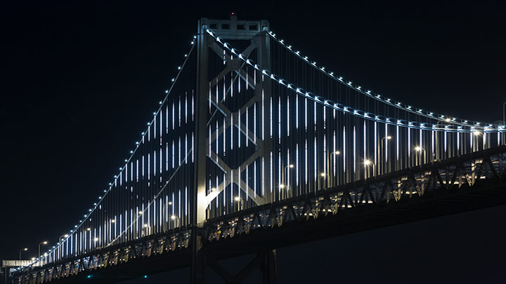 Bay Lights, São Francisco, Bay Bridge